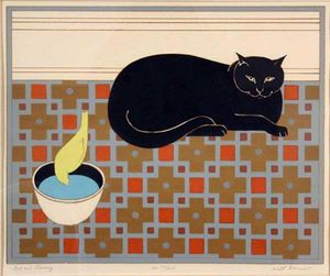 Will Barnet - Cat et Canary
