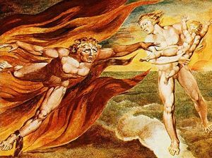 William Blake - Les Anges Bien et le Mal