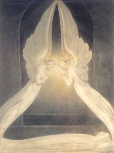William Blake - Christ dans le sépulcre