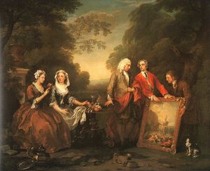 William Hogarth - La famille Fountaine