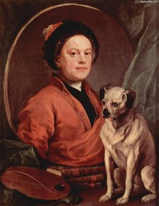 William Hogarth - portrait d-individu