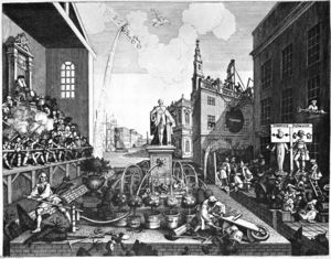 William Hogarth - Les temps met 2