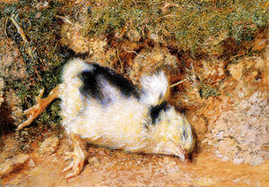 William Holman Hunt - Poussin mort de John Ruskin