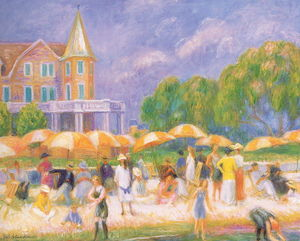 William James Glackens - Parapluies