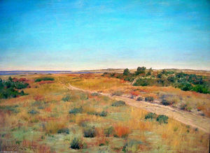 William Merritt Chase - Tout d abord contact de L-automne