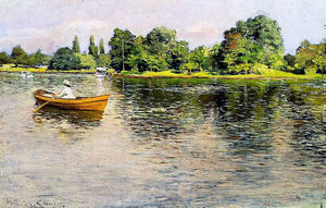William Merritt Chase - Summertime (Tirer Shore)