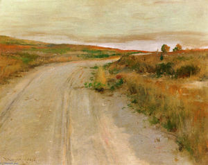 William Merritt Chase - À Shinnecock Hills