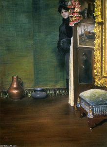 William Merritt Chase - peut i provenir à