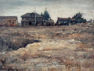 William Merritt Chase - Monterey, Californie