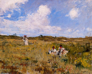William Merritt Chase - Paysage Shinnecock 03