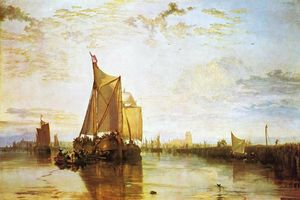 William Turner - Dort, l Dort Packet Bateau de Rotterdam Bacalmed