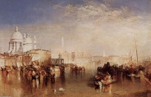 William Turner - Venice , vu de du Giudecca Canal