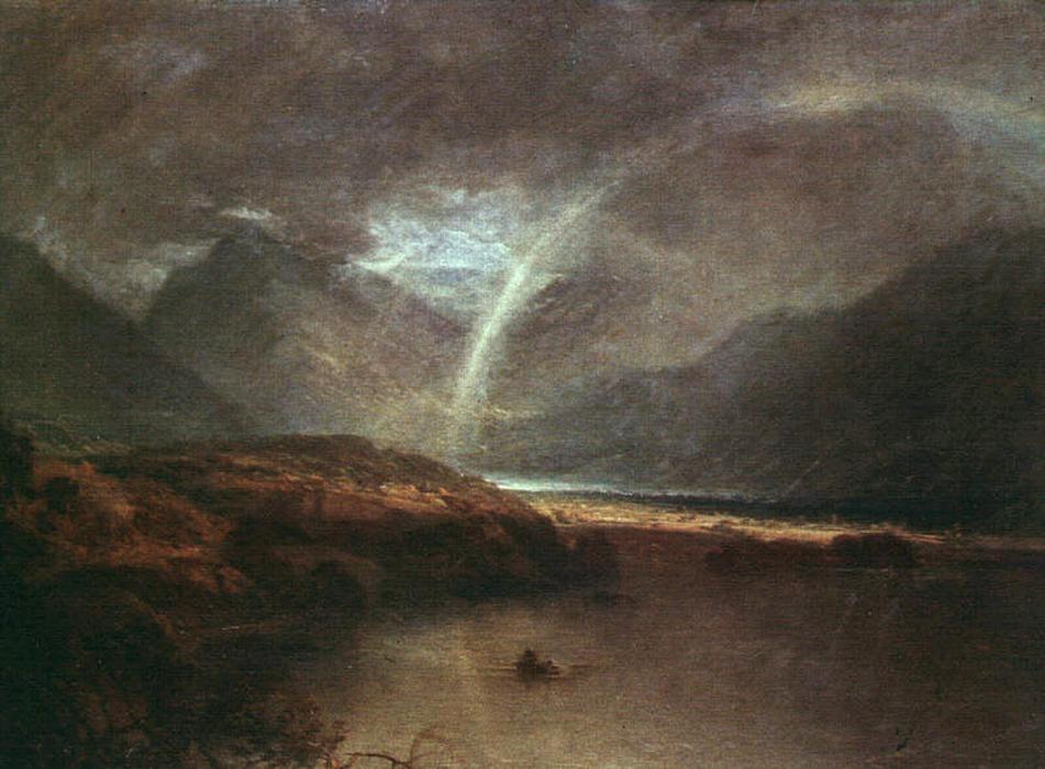 Lac buttermere une douche huile sur toile de william turner 1775 1851 uni - Acheter une peinture sur toile ...