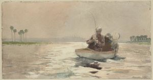 Winslow Homer - Bass Fishing, Floride