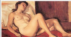 Yiannis Moralis - Sleeping Girl