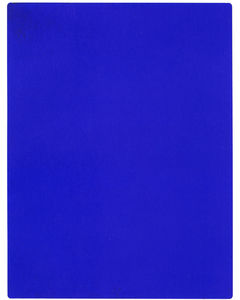 Yves Klein - International Klein Blue