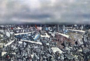 Yves Tanguy - Multiplication de l Arcs arches