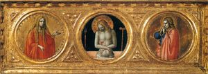 Fra Angelico - Prédelle of le r Peter Martyre Retable ( détail )