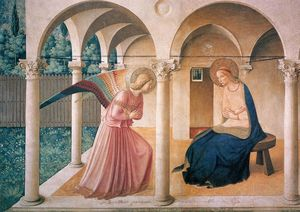 Fra Angelico - L Annonciation