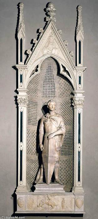 r george, 1416 de Donatello (1386-1466, Italy) | Copie Tableau | WahooArt.com