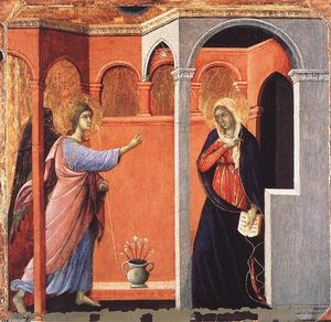Duccio Di Buoninsegna - Annonciation