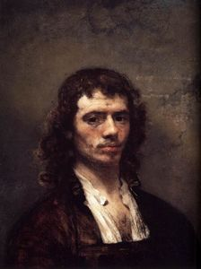 Carel Fabritius - Autoportrait