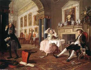 William Hogarth - Mariage à la Mode