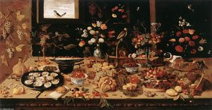 Jan Van Kessel - nature morte