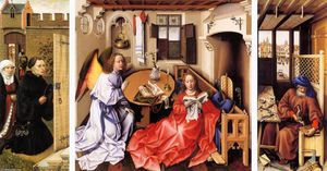 Robert Campin (Master Of Flemalle) - Retable Mérode