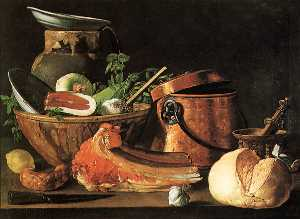 Luis Egidio Meléndez - nature morte