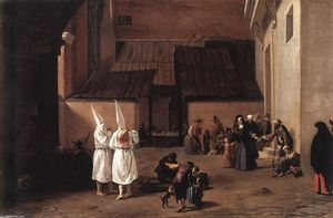 Pieter Boddingh Van Laer - Les flagellants