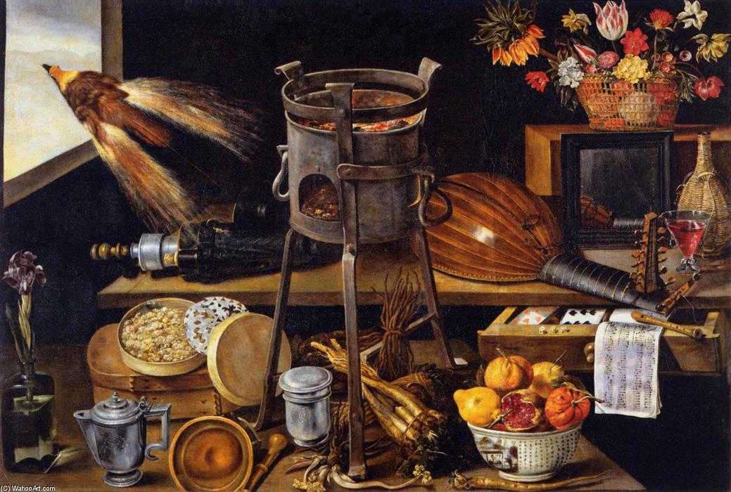 les cinq sens et les quatre l ments huile sur toile de jacques linard 1597 1645 france. Black Bedroom Furniture Sets. Home Design Ideas