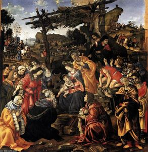 Filippino Lippi - Adoration des Mages