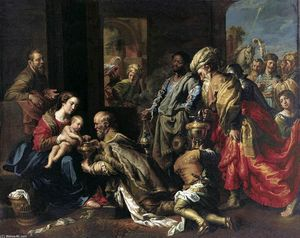 Theodoor Van Loon - L Adoration des Mages