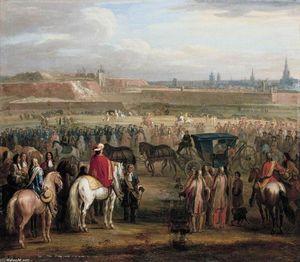 Galerie adam frans van der meulen belgium 1632 1690 toute les oeuvres 27 huile - Le roi du matelas cambrai ...