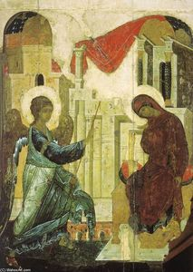 Andrey Rublyov (St Andrei Rublev) - Annonciation