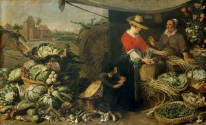 Frans Snyders - Fruit Stall