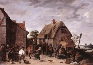 David The Younger Teniers - Kermess flamande