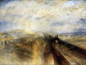 William Turner - pluie vapeur et vitesse à l accompli Occidental chemin de fer