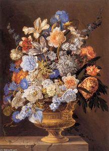 Jacques Ii Bailly - Bouquet de fleurs