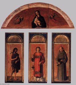 Jacopo Bellini - Triptyque of r Lawrence