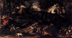 Annibale Carracci - chasse