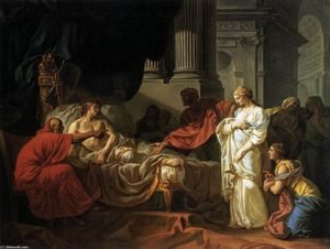 Jacques Louis David - Antiochus et Stratonice