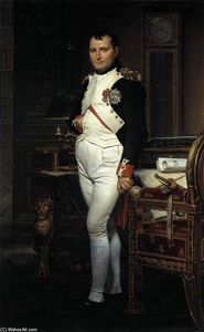 Jacques Louis David - Napoléon sa étude