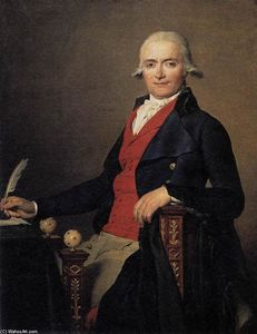 Jacques Louis David - Portrait de Gaspar Mayer