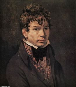 Jacques Louis David - Portrait d Ingres