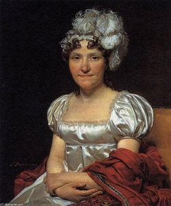 Jacques Louis David - Portrait de Marguerite-Charlotte David
