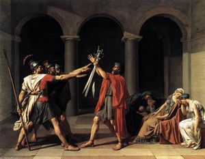 Jacques Louis David - Le Serment des Horaces