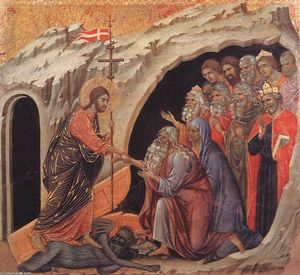 Duccio Di Buoninsegna - Descente en enfer