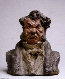 Honoré Daumier - Laurent Cunin, Homme politique (The Angry Man)